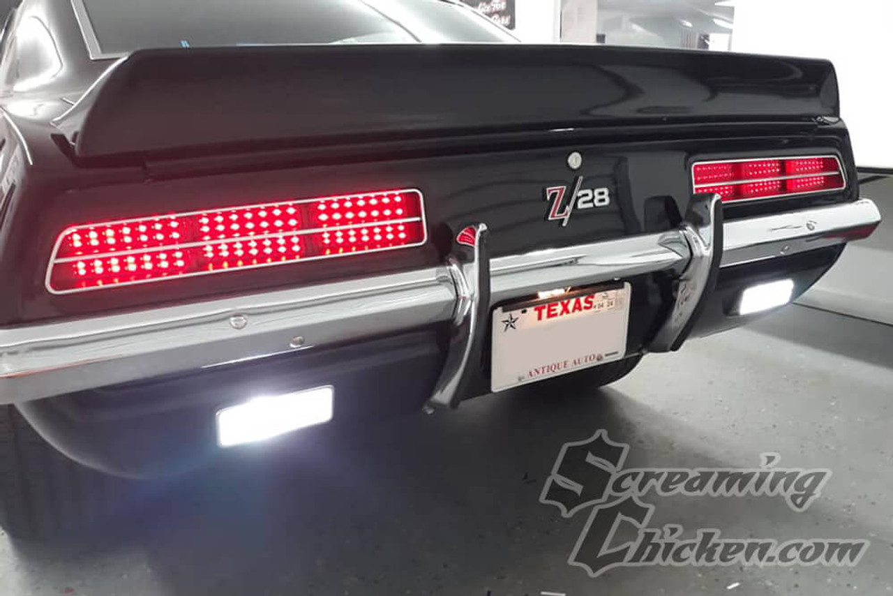 1969 Camaro LED Sequential Tail Lights