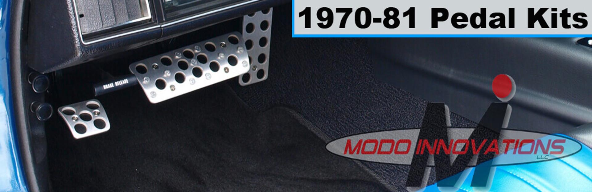 1970-81 Modo Pedal Covers
