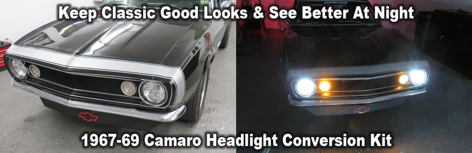 1967-69 Camaro Headlight Conversion Kit