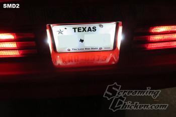 1974-78 Firebird LED License Plate Bulbs