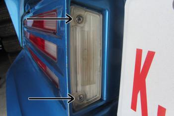 1974-78 Firebird License Plate Lights Screws