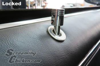 1967-81 Camaro/Firebird Piston Door Lock Knobs