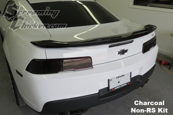 Charcoal Non-RS 2014-15 Camaro Tail Light Overlays