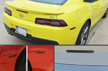 2014-15 Camaro Smoked Lens Combination