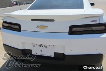 2014-15 Camaro Smoked Tail Light Overlays