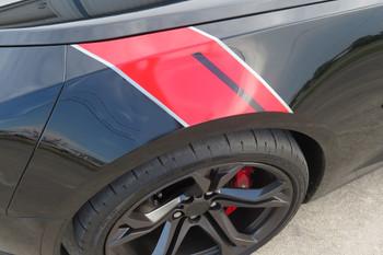 2016-21 Camaro Gen6 Hash Mark Stripes