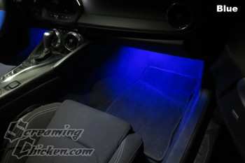 2016-19 Camaro Blue Footwell Lighting