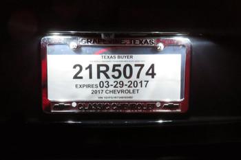 2016-20 Camaro LED License Plate Light Bulbs