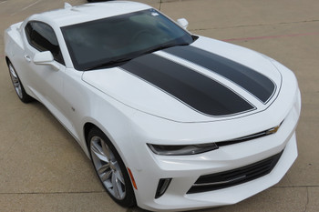 2016-18 Camaro Retro Rally Stripes