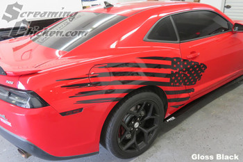 2010-15 Camaro Stars & Stripes Side Stripe