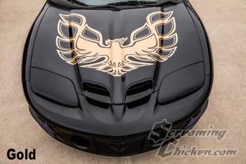 1998-2002 Trans Am 70's Style Hood Bird