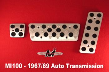 1967-69 Camaro/Firebird Modo Innovations Pedal Covers
