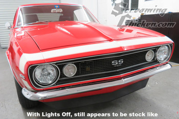 1967-69 Camaro LED Headlight Conversion Kit (pair)