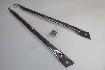 1967-69 Camaro/Firebird Chrome OE Style Fender Braces