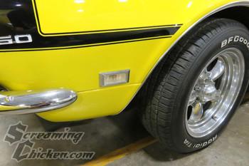 1968 Camaro Side Marker Complete Kit