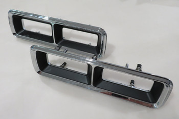 1968 Camaro Tail Lamp Bezels (Left & Right)