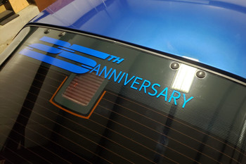 1992 Camaro 25th Anniversary Windshield/Back Glass Graphic