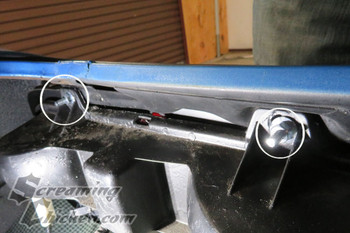 1969 Camaro Tail Light Hardware