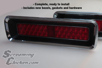 1967 Camaro RS LED Complete Tail Lights