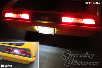 1969 Camaro LED tail light combo kit