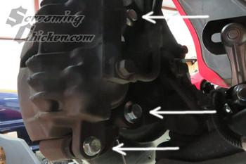 1998-2002 Camaro/Firebird  Brake Caliper Bolts