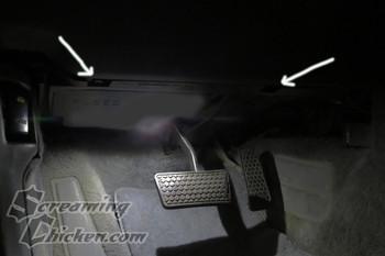 1990-92 Camaro/Firebird Driver Side Under Dash Panel Retaining Clips