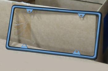 2010-21 Camaro Black Slim License Plate Frame