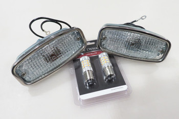 1968 Camaro Complete Parking Lights With LED bulbs
