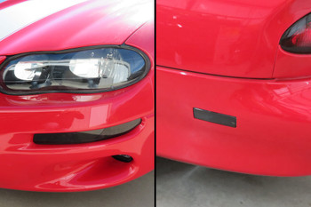 1998-02 Camaro Smoked Front & Rear Side Marker Overlays