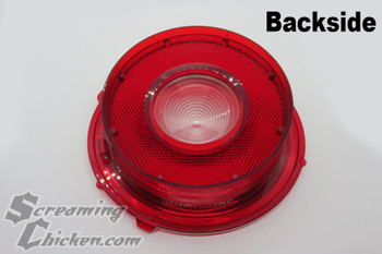1970-73 Camaro Back Up Tail Light Lens