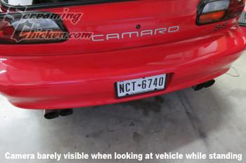1993-2002 Camaro/Firebird License Plate Mount Reverse Camera