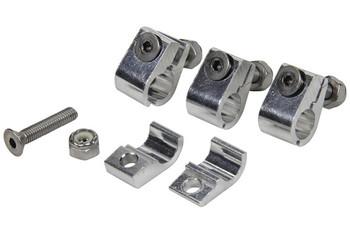 2pc Aluminum Line Clamps - 4  pack