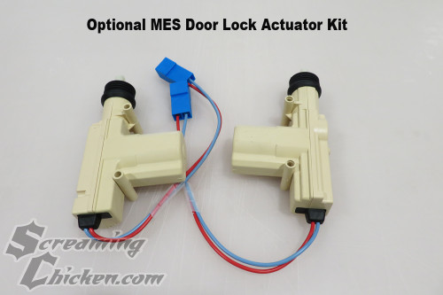 1970-81 Camaro/Firebird Door Lock Install Kit