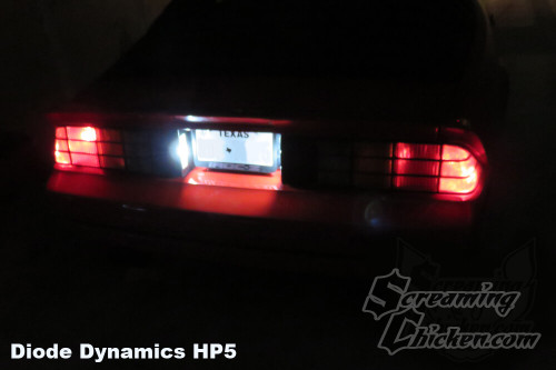 1982-92 Camaro LED License Plate Bulbs