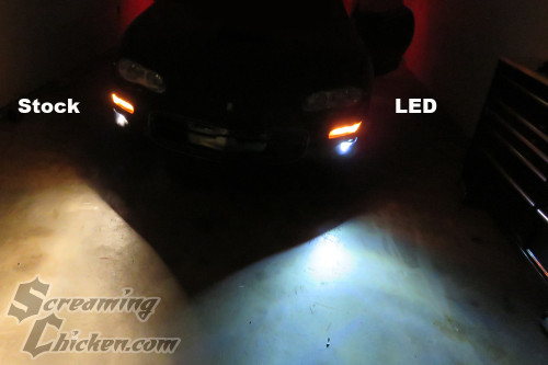 1998-2002 Camaro LED Fog Light Bulbs