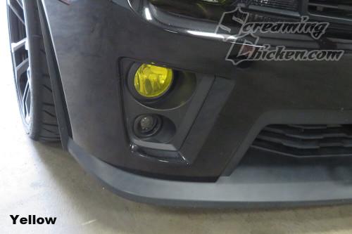 2012-15 Camaro ZL1 Smoked DRL Overlay