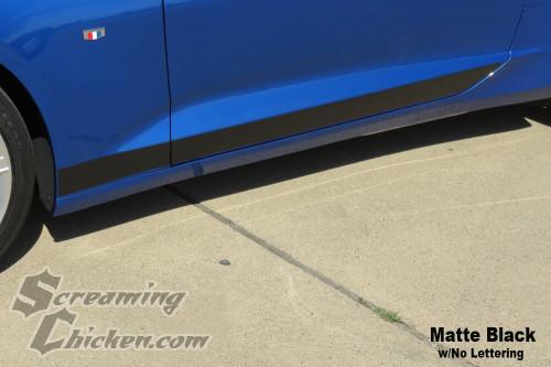 2016-19 Camaro Solid Rocker Stripe