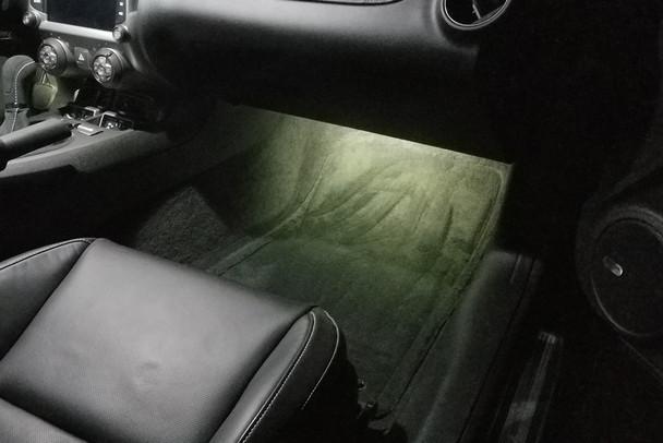 2010-15 Camaro Footwell Lighting