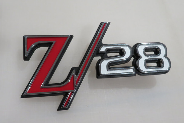 1969 Camaro Z28 Rear Tailpan Emblem