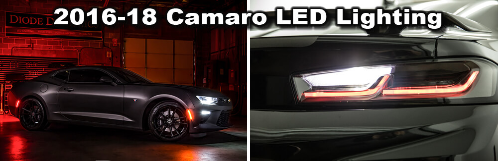 2016-18 Camaro LED Lighting