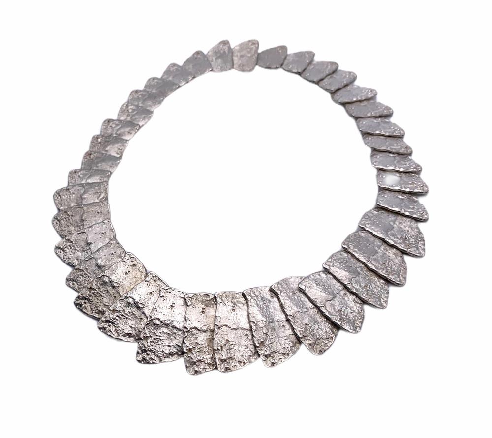 Sterling Silver 'Snake'  Necklace