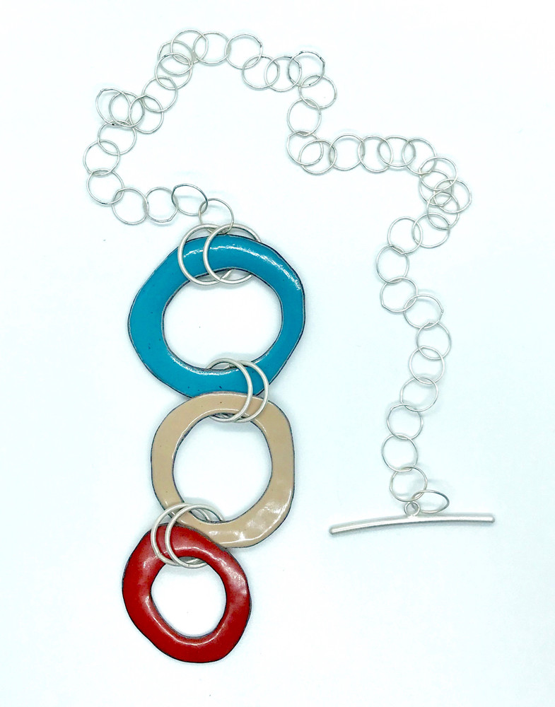 Three Ring Circus Necklace