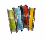 Enameled anti-clastic  copper bangles