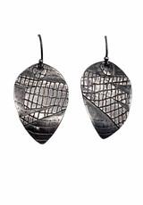 Sterling Silver Fused Earrings