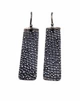 Sterling Silver Fused Dot Earrings