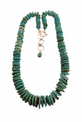 Sterling silver and turquoise necklace