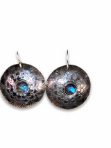 Sterling Mandala Earrings