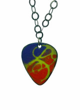 Enameled Guitar Pick