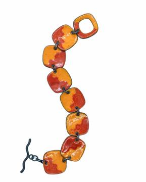 Square links bracelet