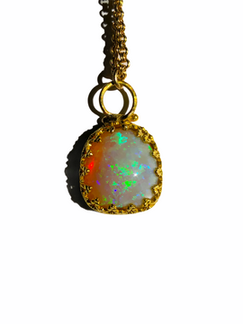 Australian Opal 14 kt gold